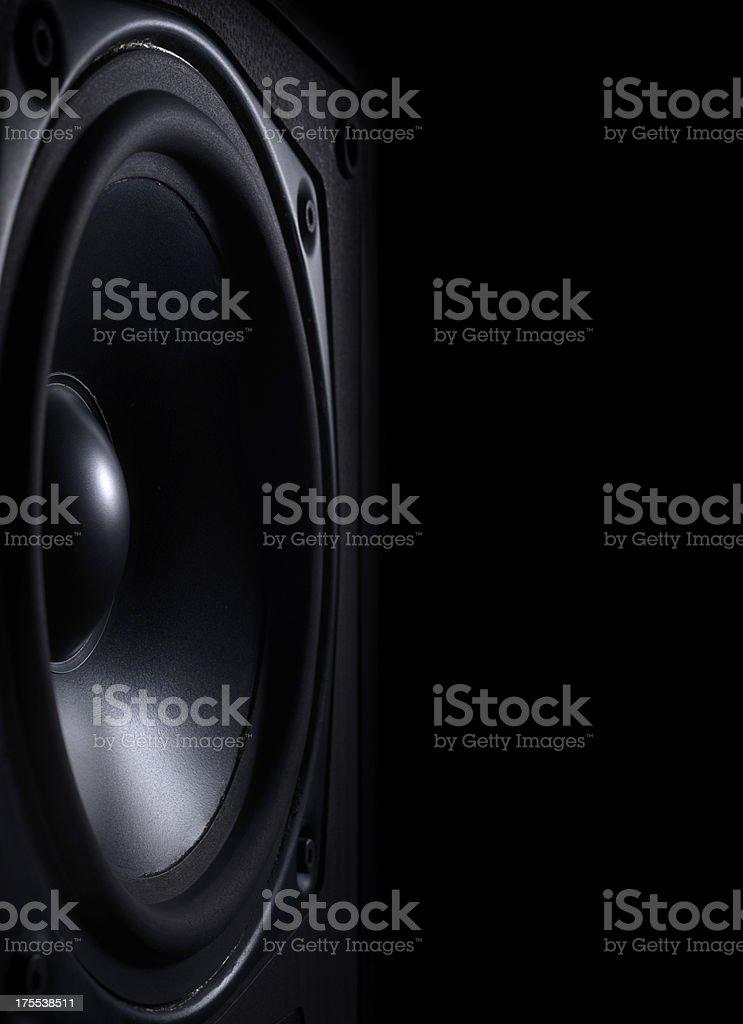 Musical Loud Speaker stock photo
