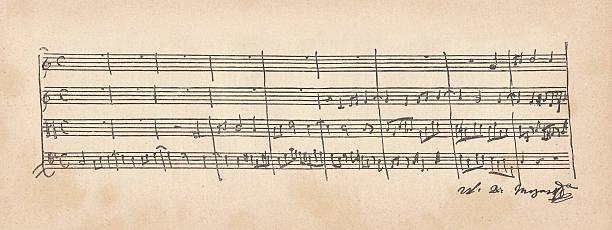 Musical Manuskript – Foto