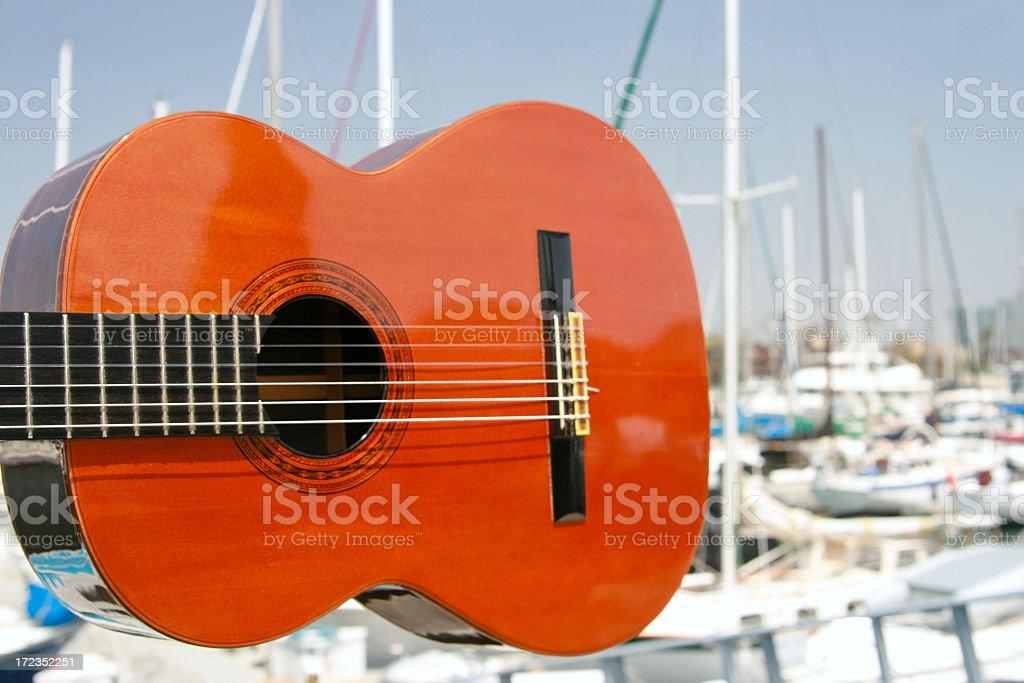Musical Marina royalty-free stock photo