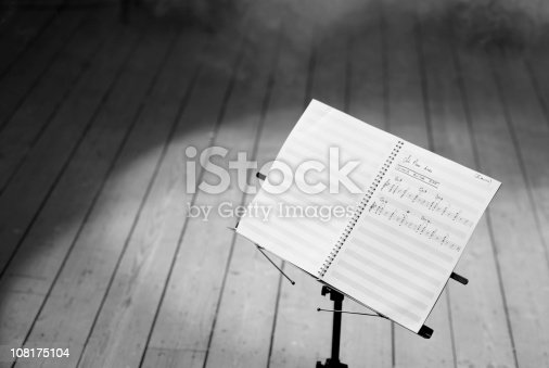 Musical Notes (BW)