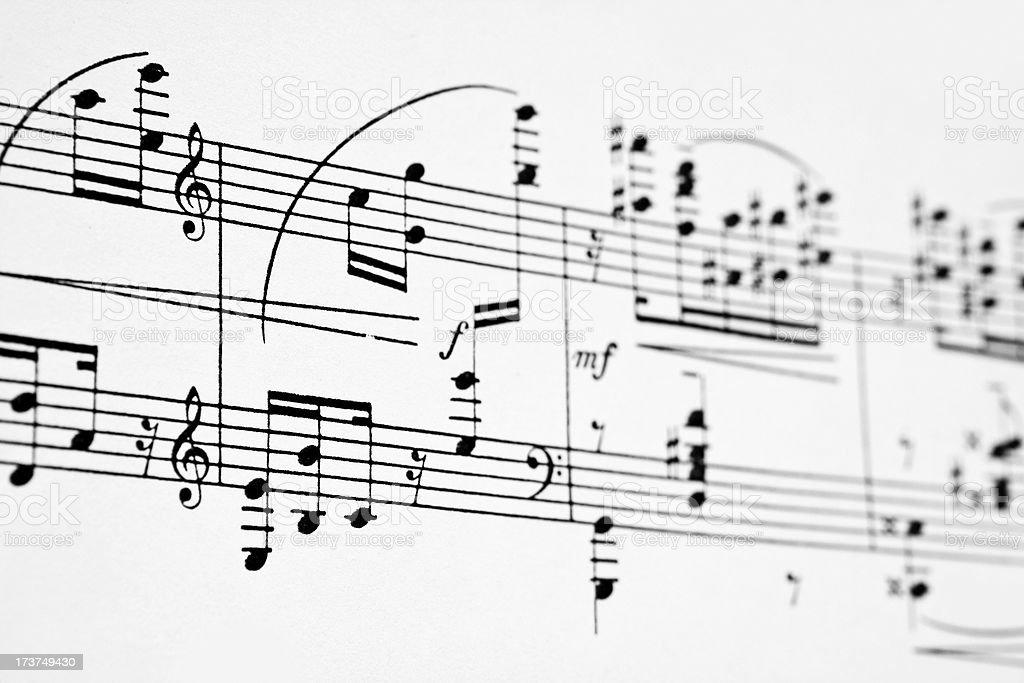 Musical Notizen – Foto