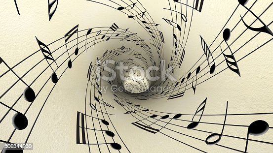istock Musical notes 506344230