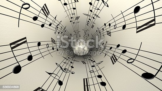 istock Musical notes 536934868