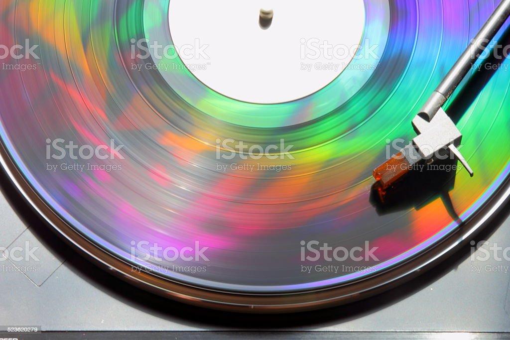 Musical Rainbow stock photo