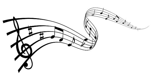 Musical wave More sheet music stock pictures, royalty-free photos & images