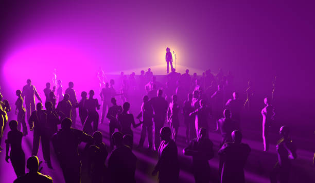 Musiker und Menschen im Konzert – Foto