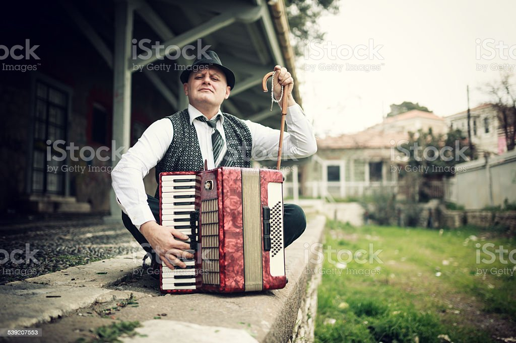 Musiker Mann – Foto