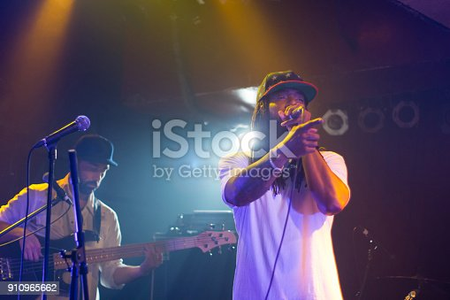 istock Musician on a stage 910965662