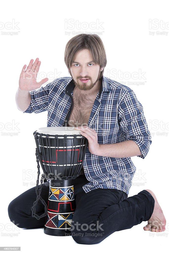 Musician people stock photo