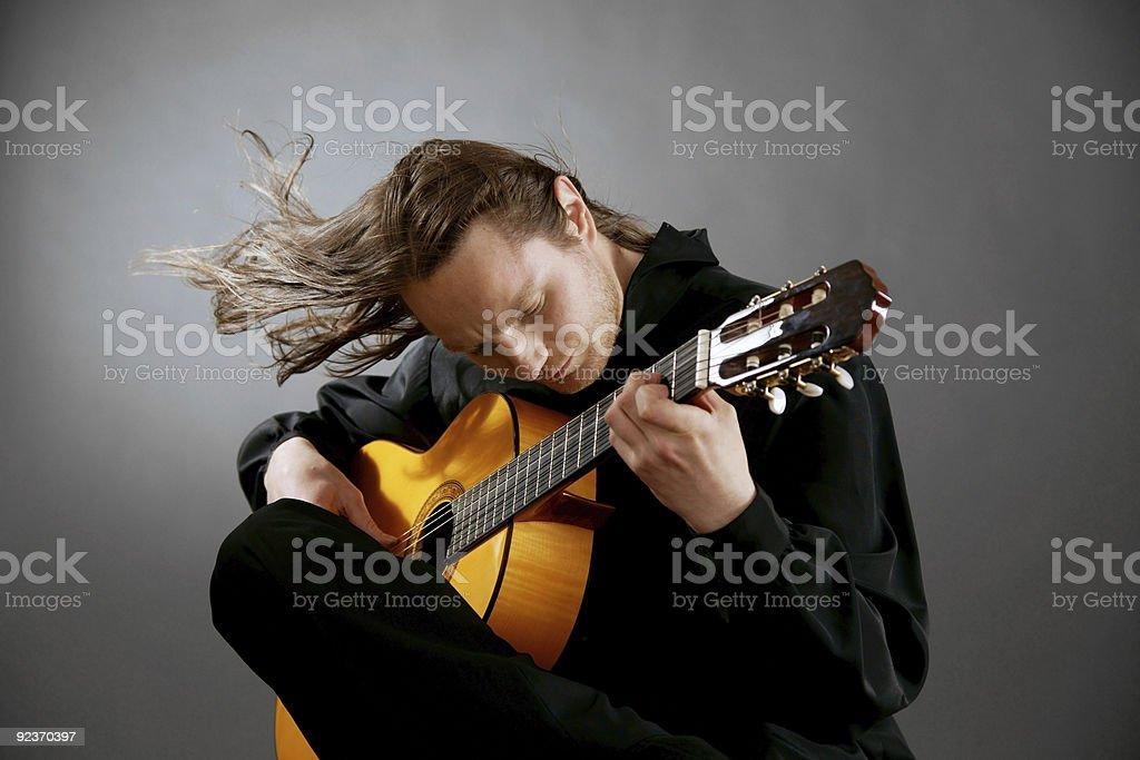 Musician royalty-free stock photo