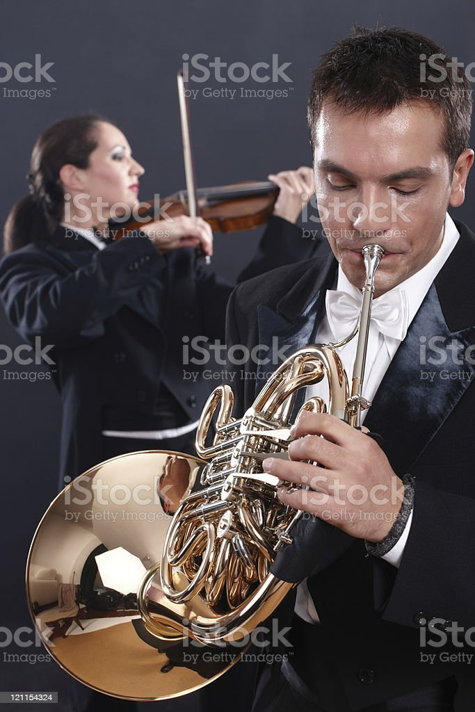 musician playing royalty-free stock photo