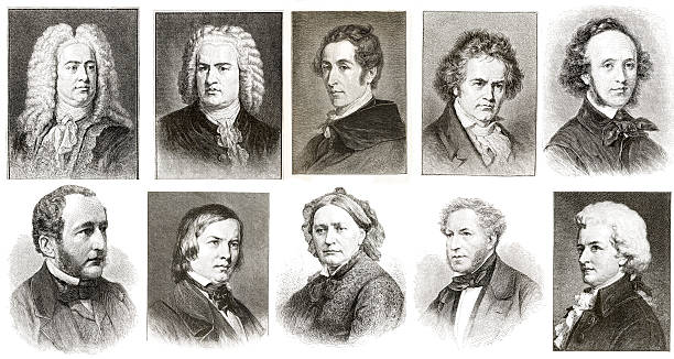 Musicians Collection stock photo