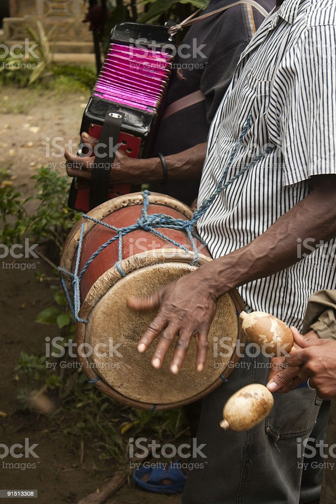 Musicians, Dominican Republic royalty-free stock photo