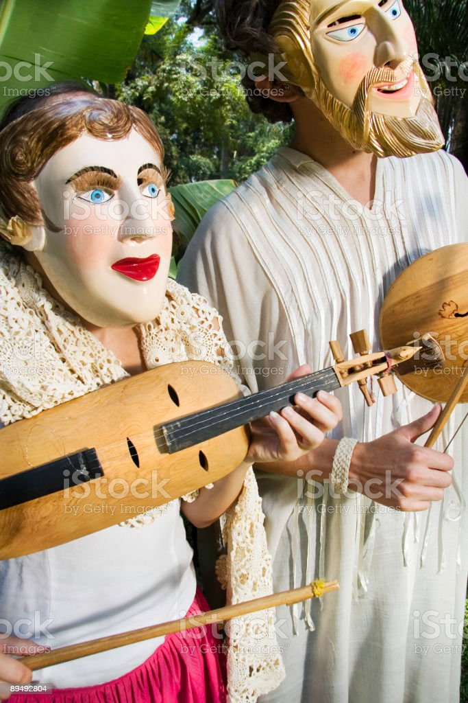Musicians royalty-free stock photo