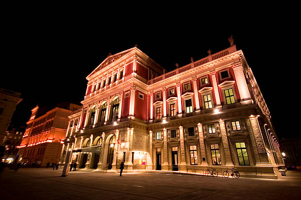 musikverein - yt stock pictures, royalty-free photos & images