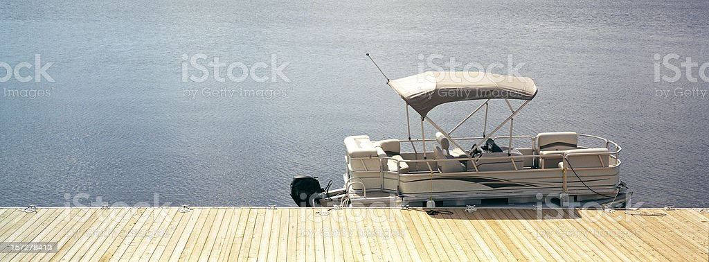 Muskoka Lake-Ontario-Canada stock photo