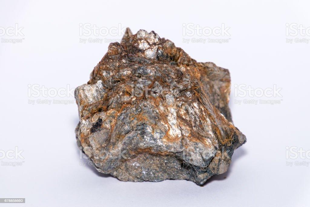 Muskovit gemstone gem jewel mineral precious stone stock photo