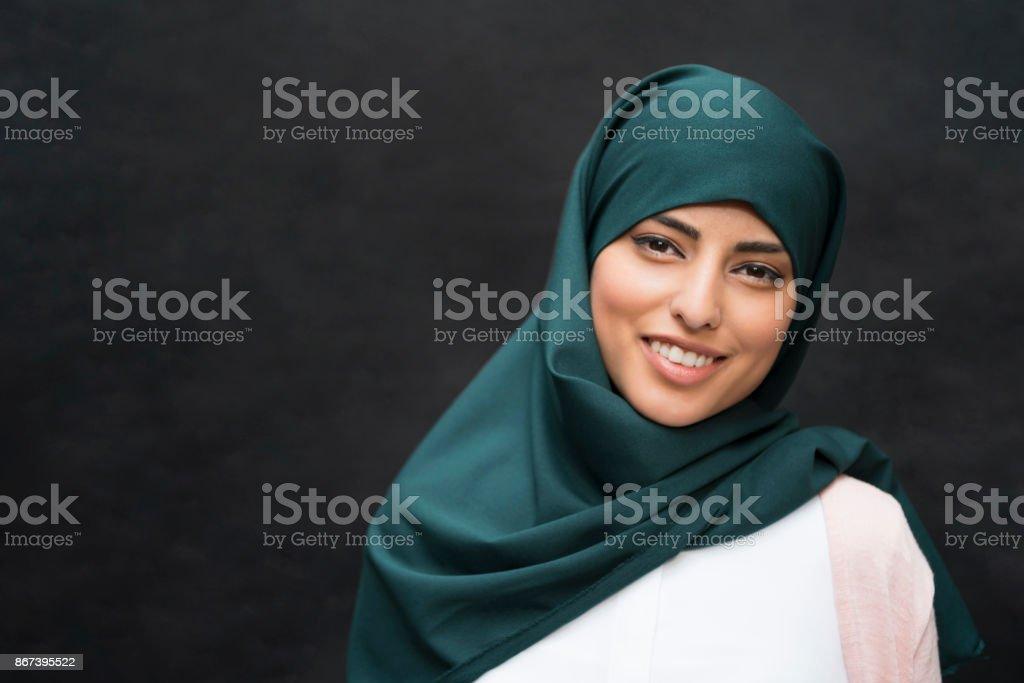 Muslimische Schönheit – Foto