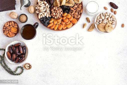 689618578 istock photo Muslim Iftar Food 1142424339