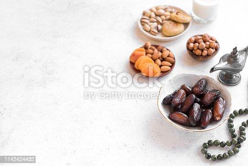 689618578 istock photo Muslim Iftar Food 1142424432