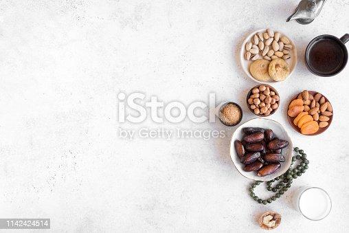 689618578 istock photo Muslim Iftar Food 1142424514