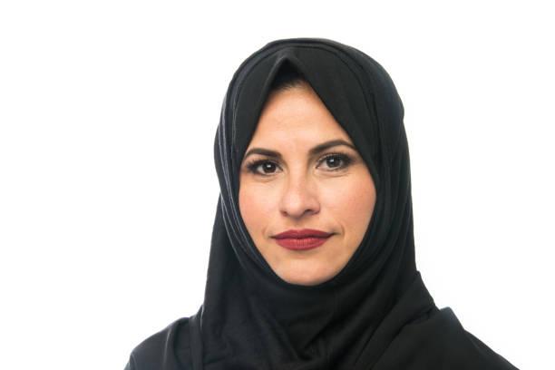 Muslim Mature Woman stock photo