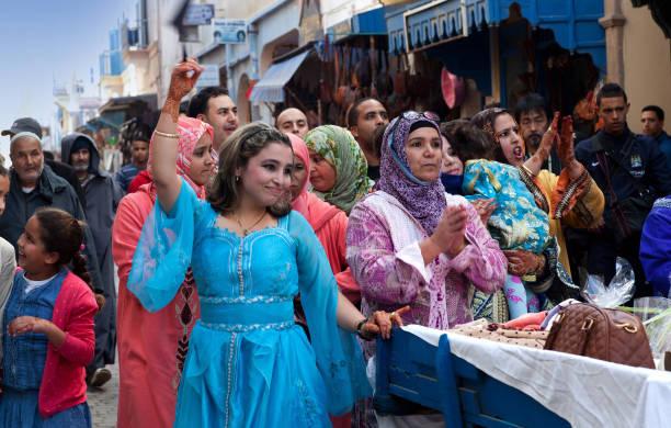 mariage musulman, maroc - mariage musulman photos et images de collection