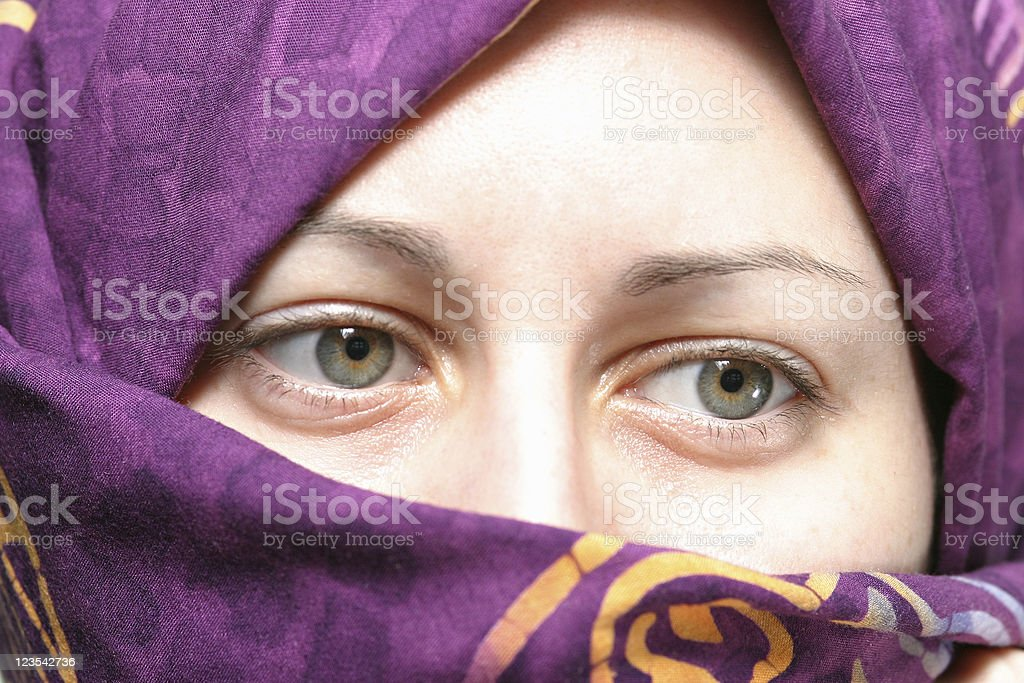 Muslim woman royalty free stockfoto