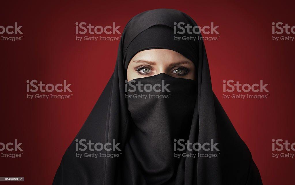 Muslimische Frau – Foto
