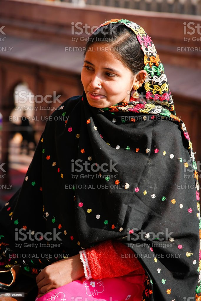 Muslim woman royalty-free stock photo