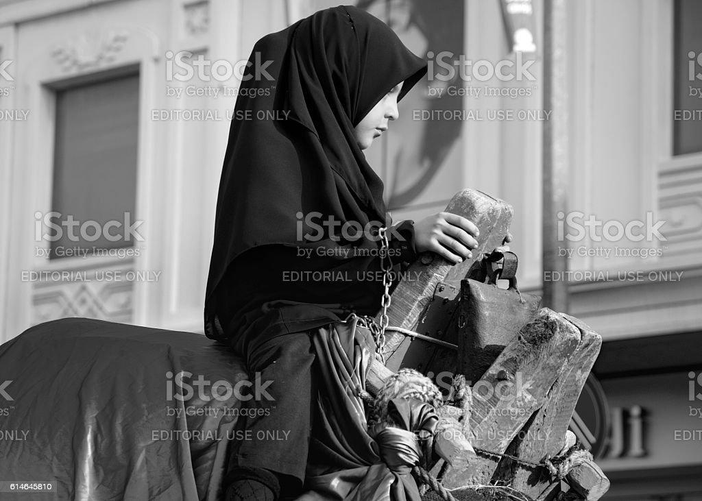 Muslims worldwide marks Ashura Istanbul Shiite community. Parents...