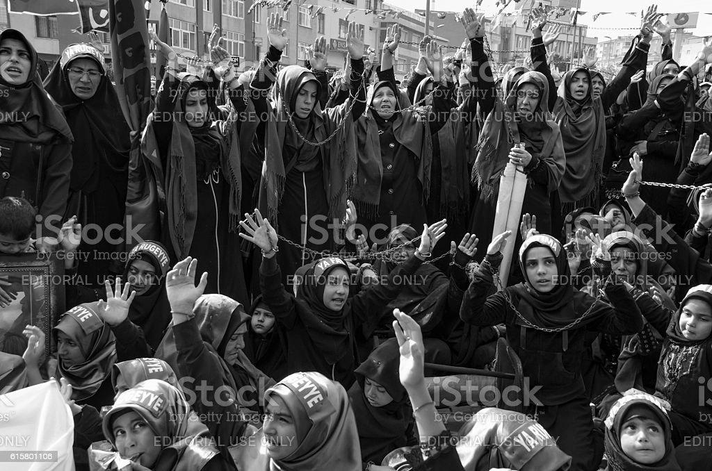 Muslims worldwide marks Ashura Istanbul Shiite community. Turkish...