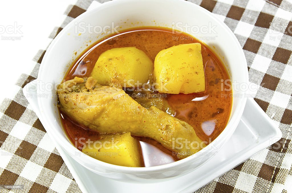 Mussaman Curry royalty-free stock photo