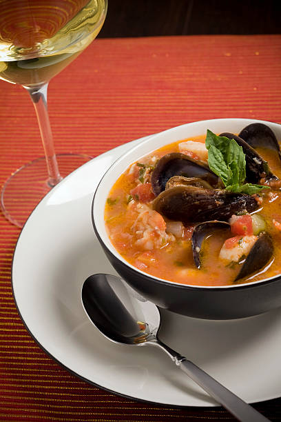 Mussel, Shrimp and Scallop Soup