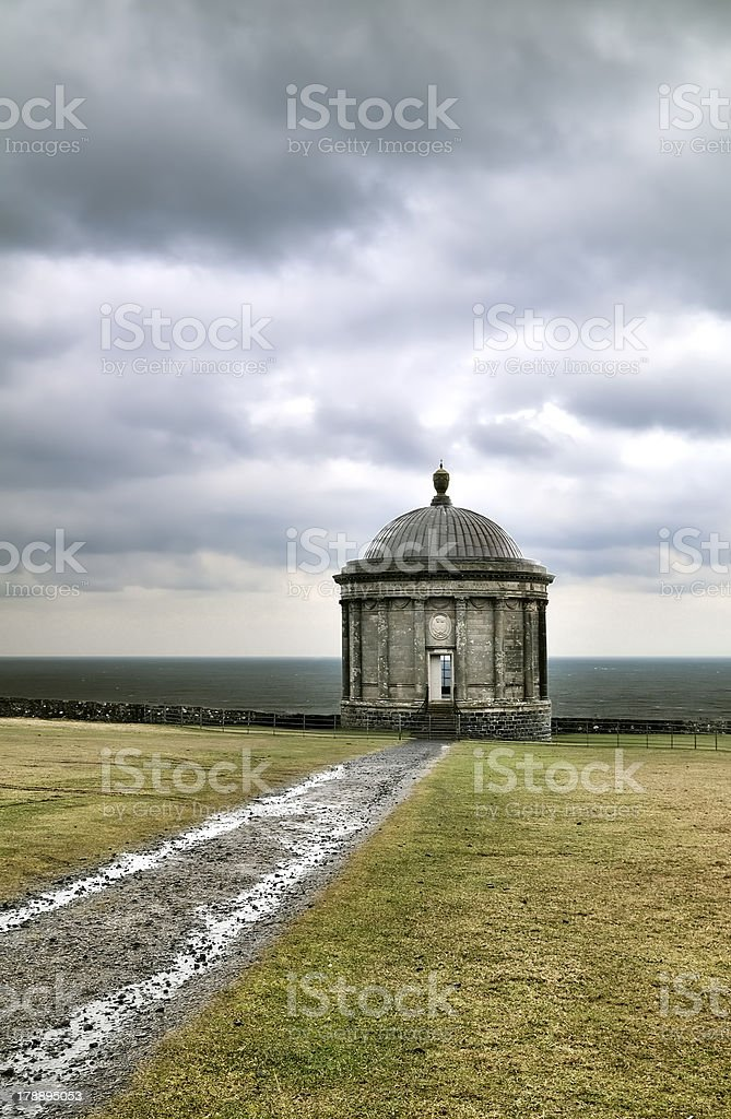 Mussenden Temple royalty-free stock photo