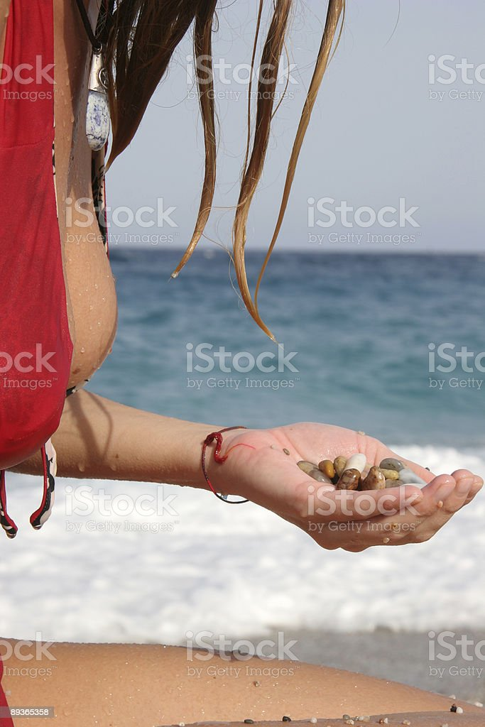 Must be in paradise royalty-free stock photo