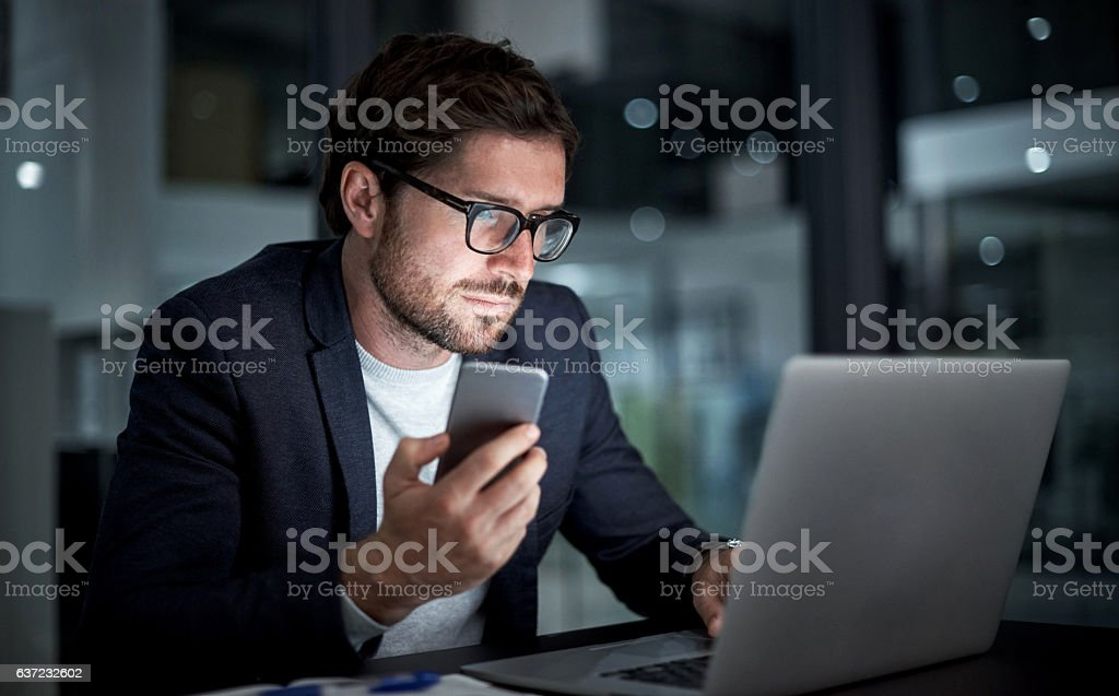 Must have technology for the modern entrepreneur stock photo