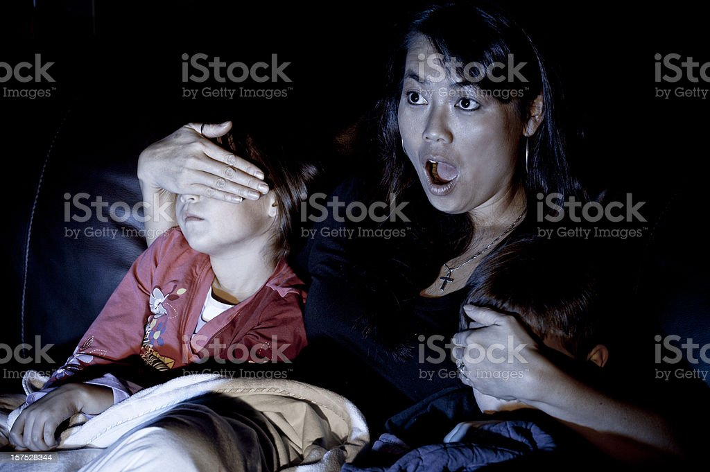 Must Not See TV stock photo