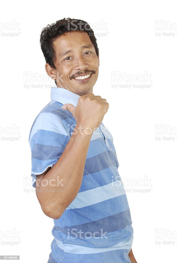 mustache man royalty-free stock photo
