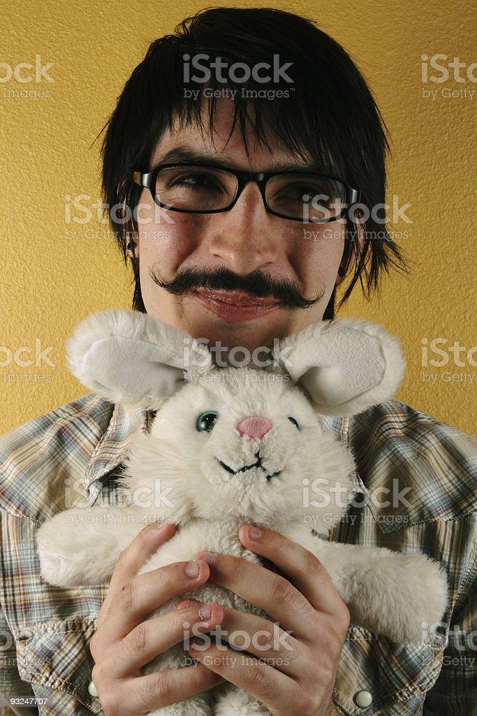Mustache Man royalty-free stock photo