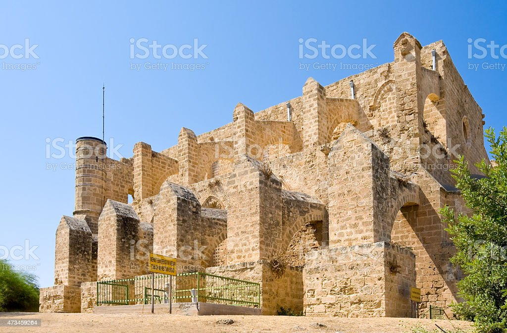 Mustafa Pasha Mosque in north Cyprus, Famagusta stock photo