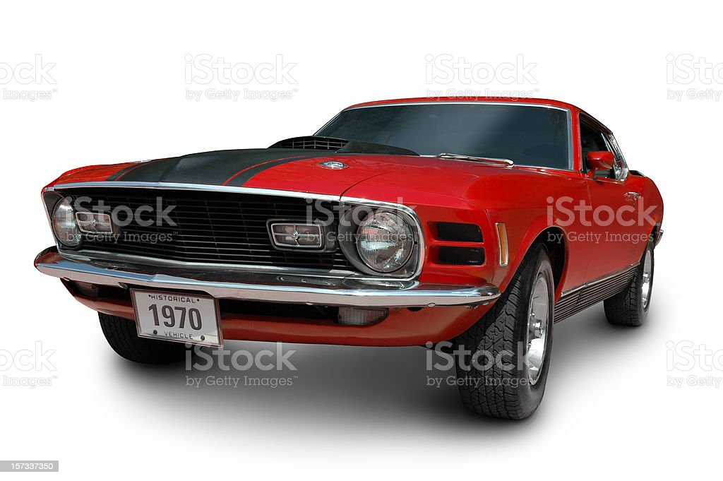 Mustang Mach1 - 1970 royalty-free stock photo