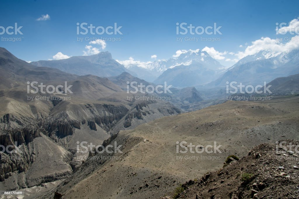 Mustang People Skycaves royalty-free stock photo