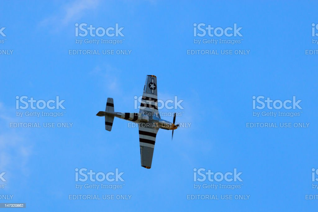 P-51 Mustang royalty-free stock photo