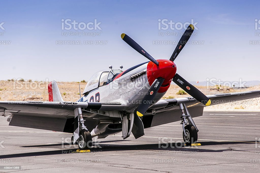 P-51 Mustang royalty-free stock photo