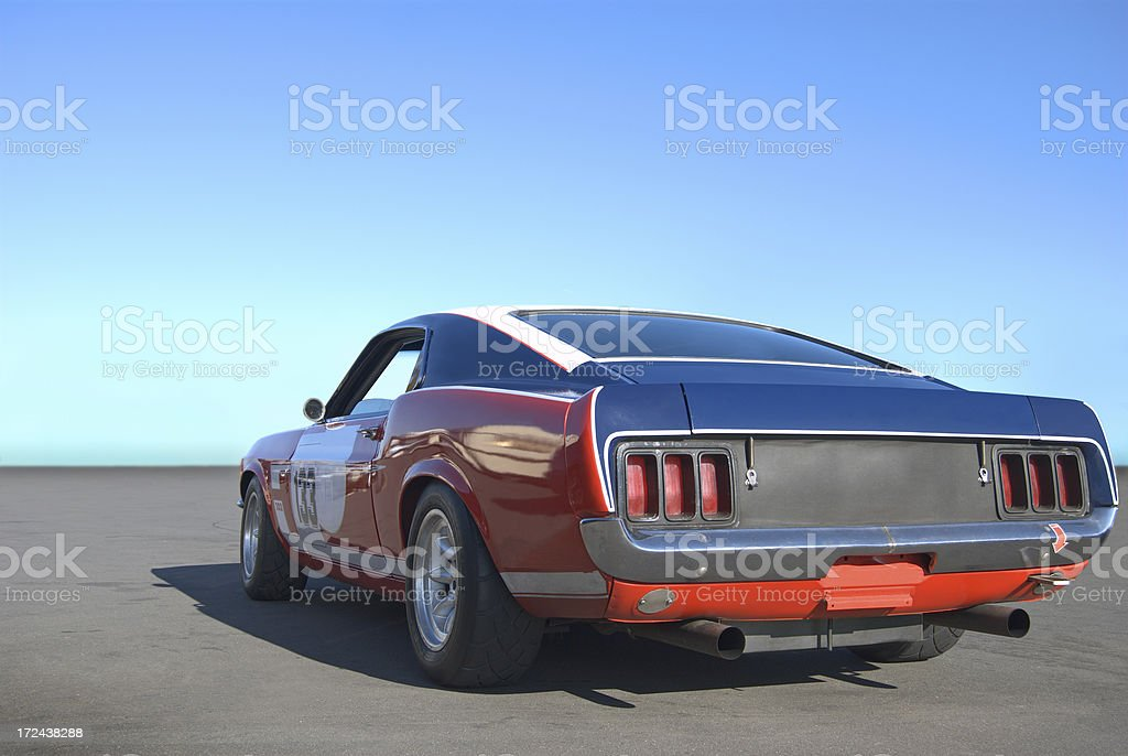 Mustang Power royalty-free stock photo