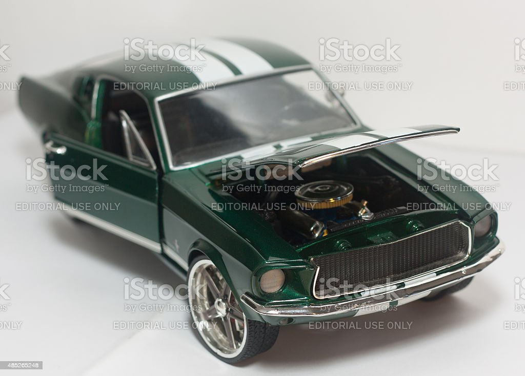 Mustang Shelby 1:18 stock photo