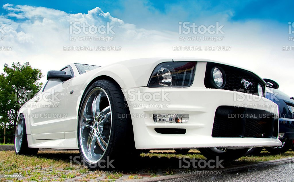 Mustang Shelby stock photo