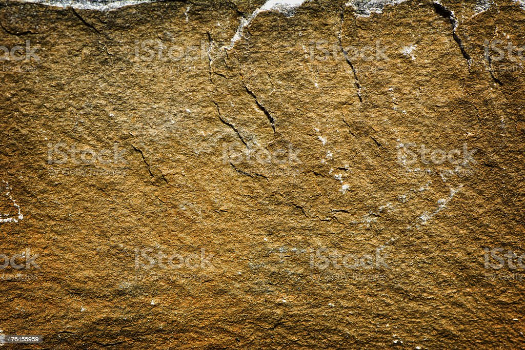 Mustard & Rust Colored Stone royalty-free stock photo