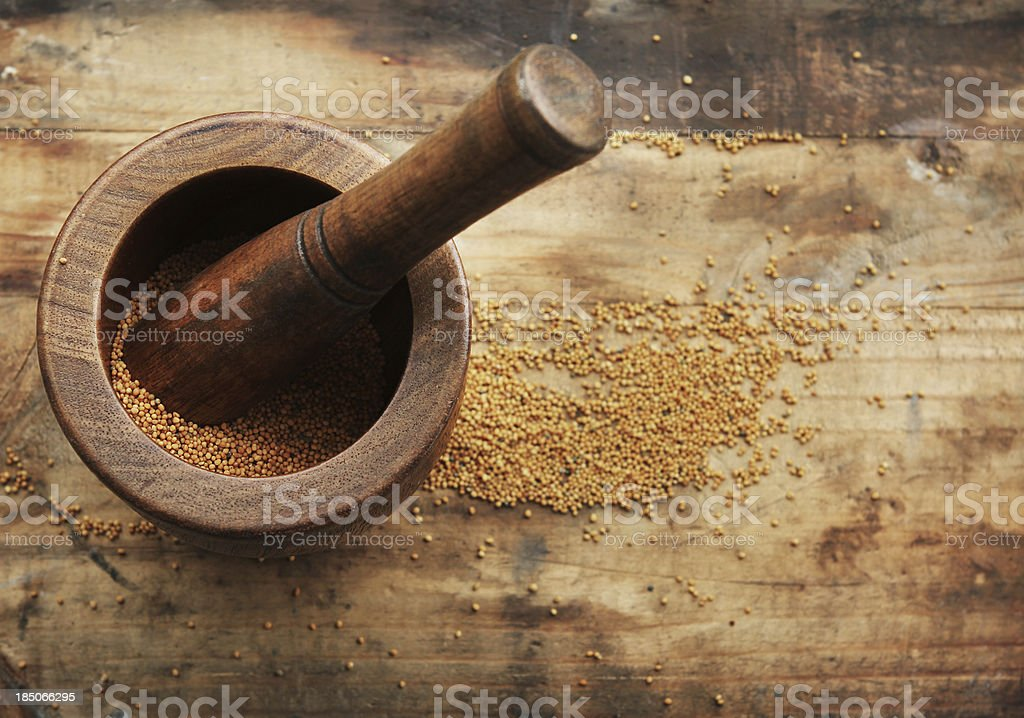 Mustard Seeds stock photo